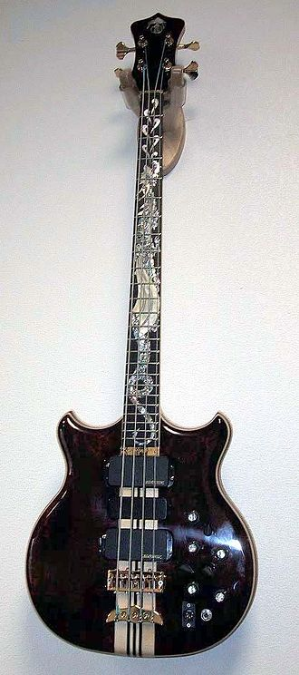 "Alembic Inc - Alembic ""Dragon's Breath"" Custom Bass Guitar"