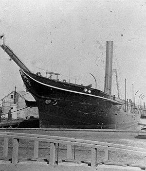 USS Huron (1875) - Alert class gunboat