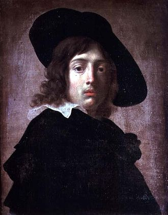 Alessandro Rosi - Self-portrait, 1660