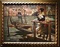 Alessandro milesi, la traversata (la partenza del marinaio), 1901, 01.JPG