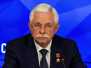 Russian politician, Vice President of Russia.