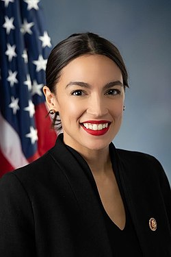 Alexandria Ocasio-Cortez, official portrait, 116th Congress.jpg