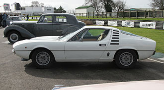 Alfa Romeo Montreal - Side profile of Montreal