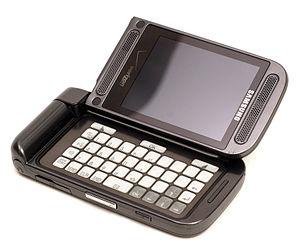 Samsung SCH-U750 - The phone in keyboard mode
