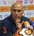 Alireza Mansourian - Persepolis vs. Naft Tehran press conference 2014-08-21.jpg