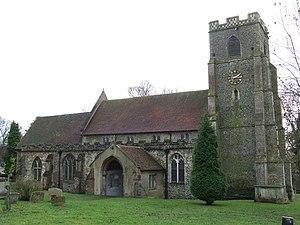 Wickhambrook - Image: All Saints Wickhambrook geograph.org.uk 1089151