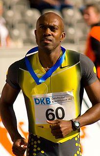 Allen Johnson Olympic hurdler athlete
