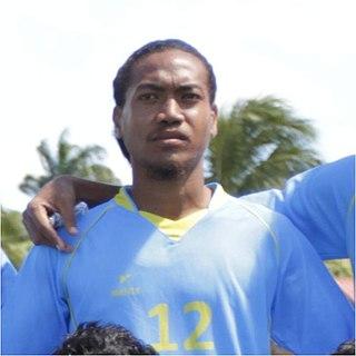 Alopua Petoa Tuvuluan footballer