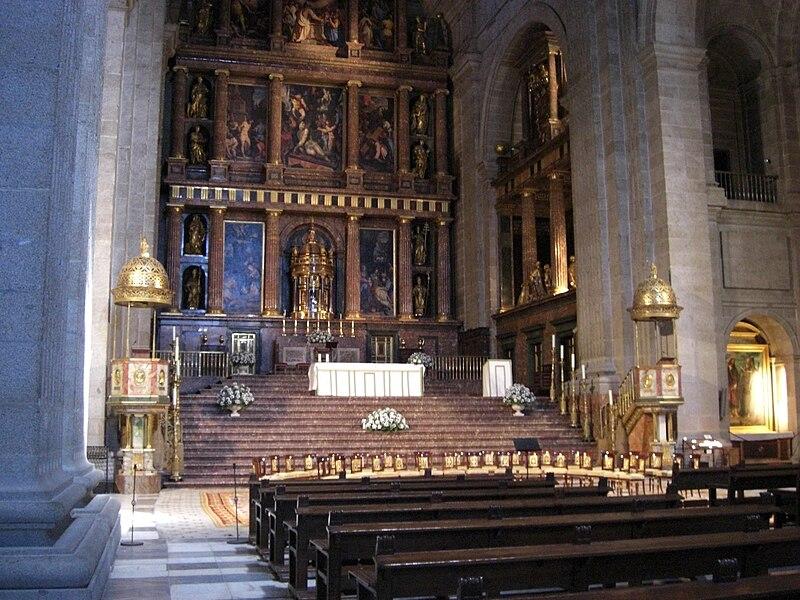 Monasterio del Escorial-basilica