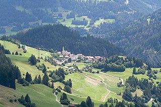 Alvaschein Former municipality of Switzerland in Graubünden