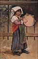 Alwyn von Stein Italienisches Mädchen mit Tamburin.jpg