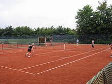 фото корт теннисный