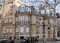 Ambassade d'Ukraine en France, 21 avenue de Saxe, Paris 7e