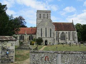 Amesbury Abbey - Image: Amesbury Abbey