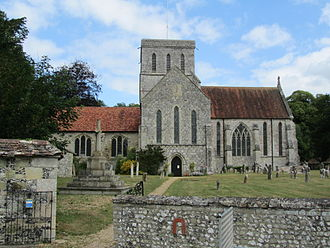 Amesbury Abbey - Church of St Mary and St Melor, Amesbury