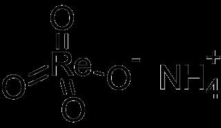 Ammonium perrhenate chemical compound
