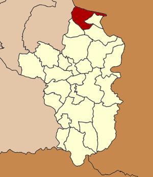 Khemarat District - Image: Amphoe 3405