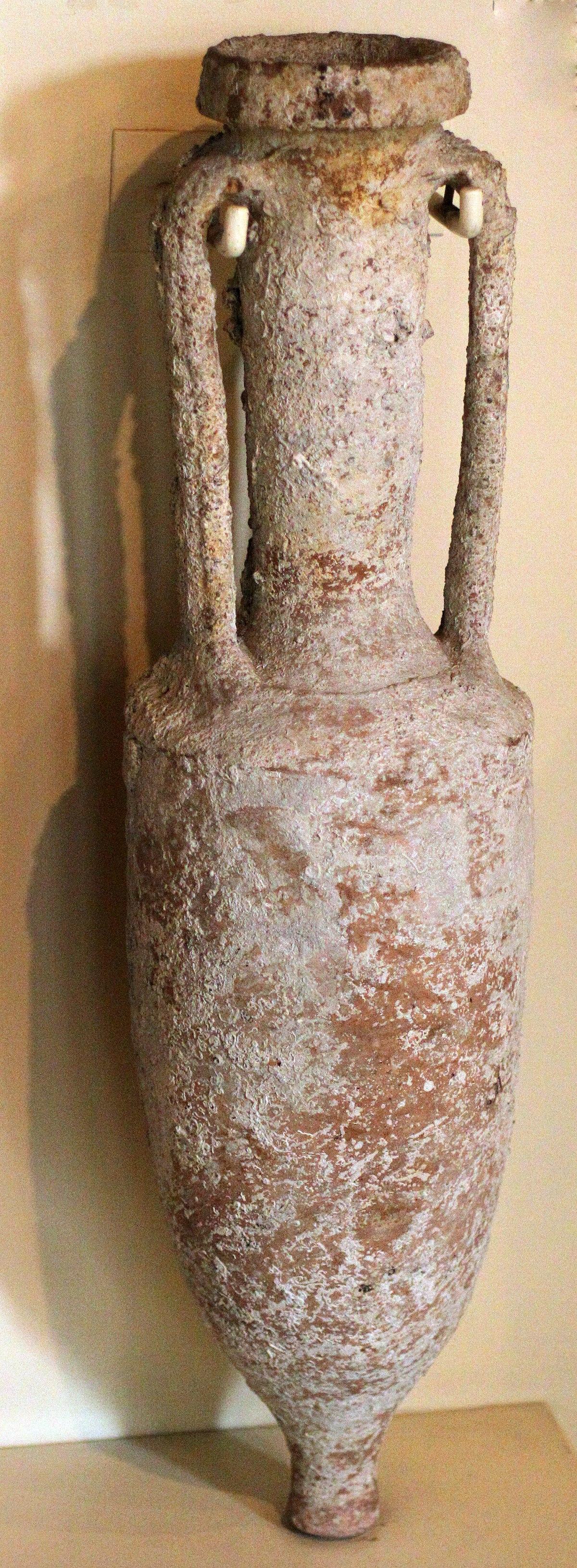 Fichier:Amphore à vin - 200 av JC.JPG — Wikipédia