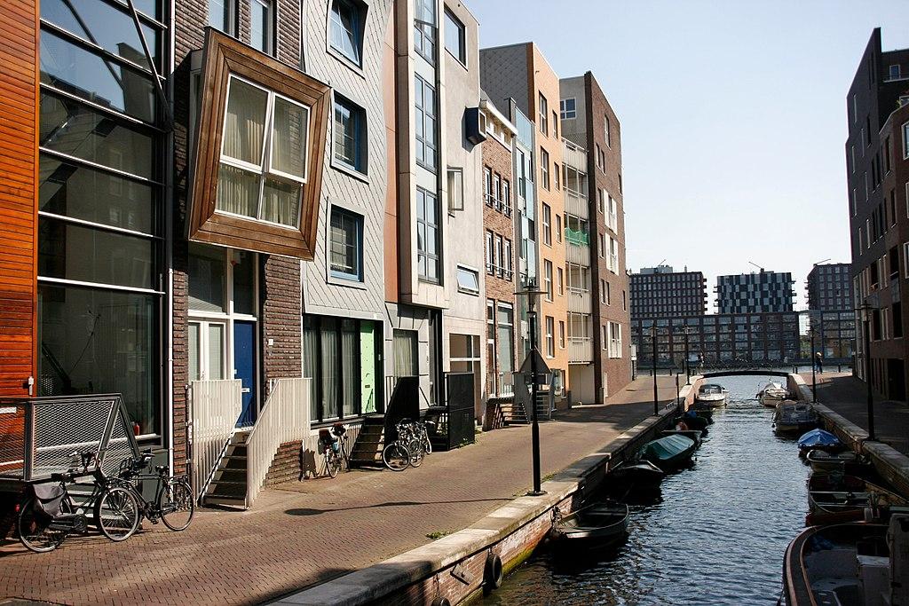 Java Eiland à Amsterdam. Photo d'Alain Rouiller