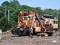 Amtrak maintenance equipment, Groton, CT.JPG