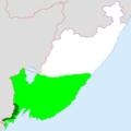 Amur Leopard distribution - Primorye.PNG