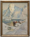 An Arctic Spring Day. Study from North Norway (Anna Boberg) - Nationalmuseum - 21300.tif