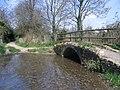 Ancient stone bridge - geograph.org.uk - 390479.jpg