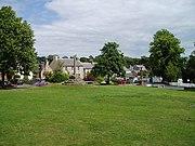 Village green, Ancrum