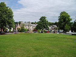 Ancrum village green