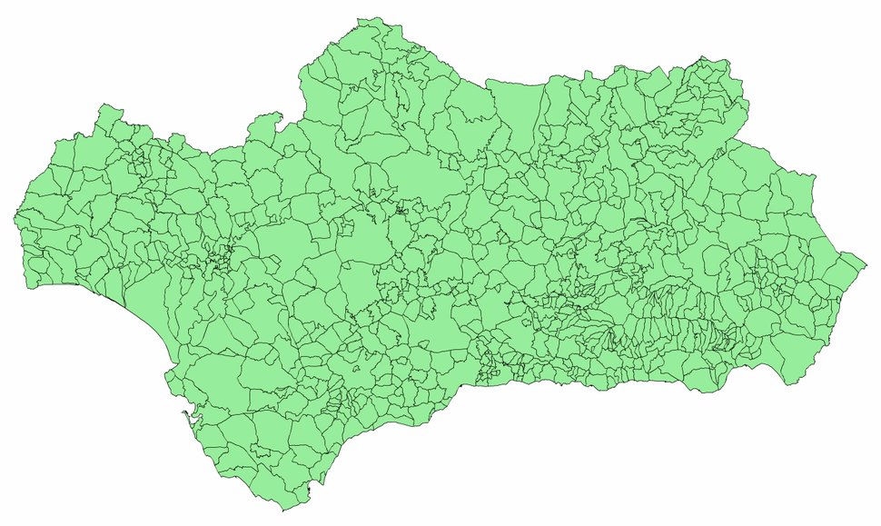 Andalucia municipalities