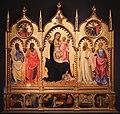 Andrea di giusto, madonna col bambino e santi, storie della vita dei santi, 1435, da s. bartolomeo alle sacca, 01.jpg