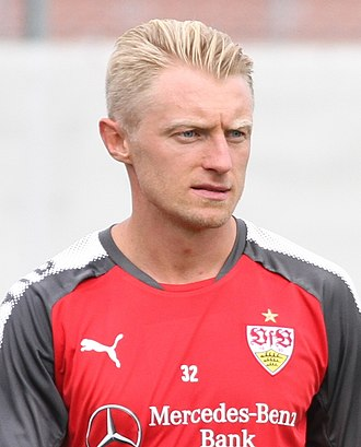 Andreas Beck (footballer) - Beck with VfB Stuttgart in 2017