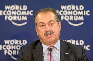 Andrew N. Liveris - Liveris at the World Economic Forum Annual Meeting in 2013