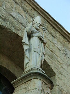 Richard of Andria - Image: Andria, statua di San Riccardo