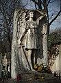 Angel of Revenge (monument), 1910 designed by Konstanty Laszczka, Rakowicki Cemetery, 26 Rakowicka street, Krakow, Poland.jpg
