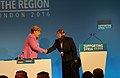 Angela Merkel and Dr Samah Bassas of the Syria Relief Network.jpg