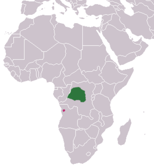 Angolan kusimanse - Image: Angolan Kusimanse area