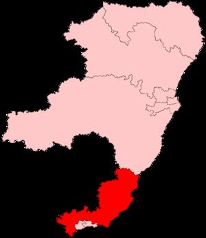 Angus (Scottish Parliament constituency) - Image: Angus Scottish Parliament Constituency