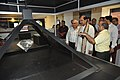 Anil Shrikrishna Manekar Demonstrates Hologram To Mahesh Sharma - NDL - NCSM - Kolkata 2017-07-11 3500.JPG