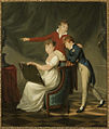 Anna Pavlovna, Nicholas and Michael Pavlovich by F.Ferriere (1806, Haag).jpg