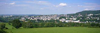 Annaberg-Buchholz - Annaberg from the west