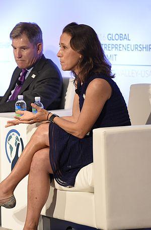 Anne Wojcicki - Wojcicki at GES 2016