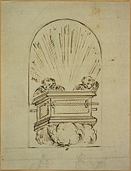 Design for the door of a tabernacle