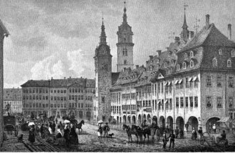 Chemnitz - Chemnitz in 1850