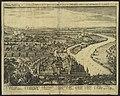 Ansicht der Stadt Höchst am Main und der Schlacht zwischen der ehemaligen Protestantischen Union unter Christian von Braunschweig-Wolfenbüttel und der Katholischen Liga unter Johann t'Serclaes Graf von Tilly, 1622.jpg