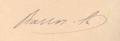 António José de Barros e Sá signature.png