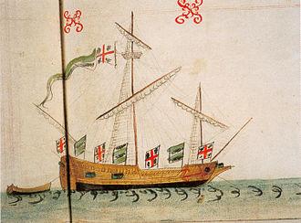 William Wynter - The Pinnace Saker followed Wynter to Scotland as a supply ship