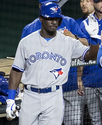 Anthony Alford - Alford with the Toronto Blue Jays in 2017