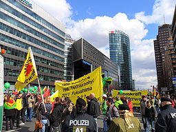 Anti-Atom-Demo Berlin Potsdamer Platz 2011-03-26