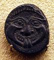 Antica grecia, monete varie a tema mitologico, gorgone.JPG